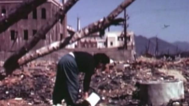 Video hiem ve Hiroshima sau ngay bi doi bom nguyen tu hinh anh 1