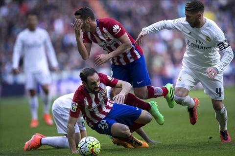 Real vs Atletico Ramos