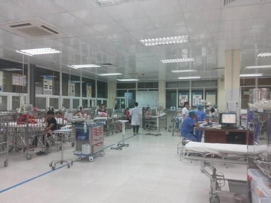 Khu vực nơi xảy ra sự việc nhân viên y tế bị hành hung, chửi bới