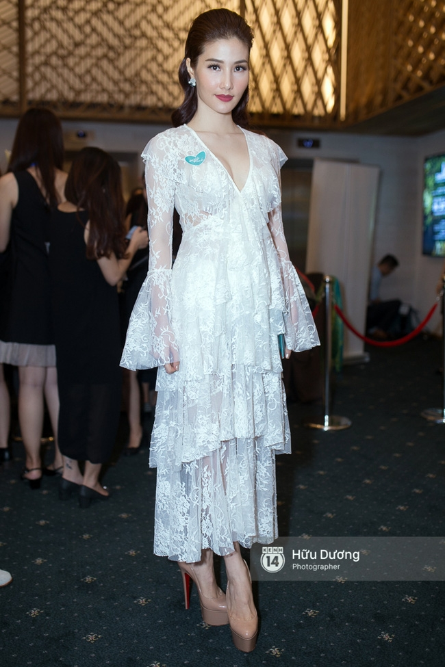 Dàn sao Việt xúng xính váy áo dự sự kiện của Ngô Thanh Vân - Ảnh 7.