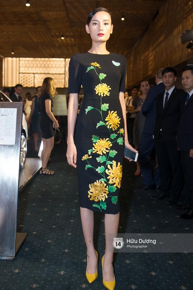 Dàn sao Việt xúng xính váy áo dự sự kiện của Ngô Thanh Vân - Ảnh 24.