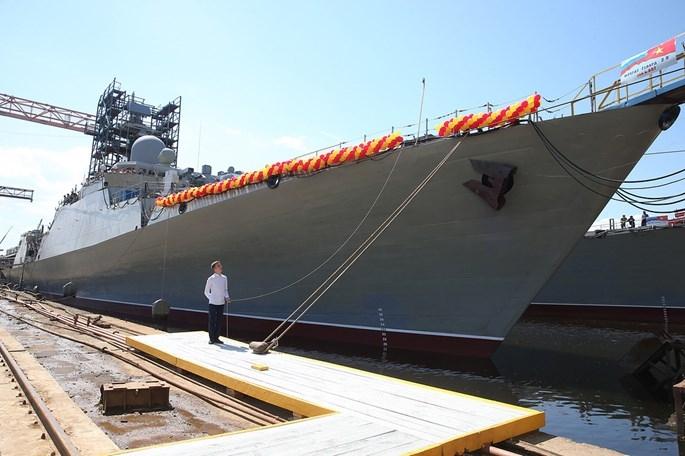 Những điều chưa biết về cặp tàu chiến Gepard của Việt Nam vừa hạ thuỷ - ảnh 2