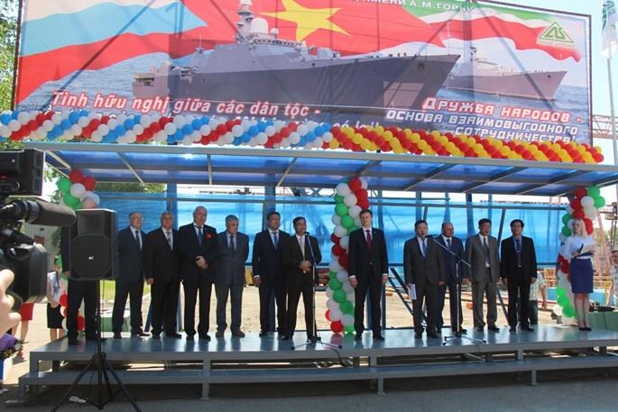 Những điều chưa biết về cặp tàu chiến Gepard của Việt Nam vừa hạ thuỷ - ảnh 4