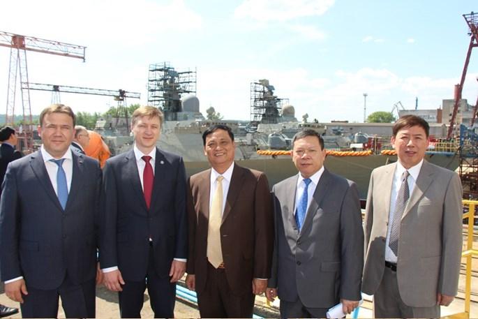 Những điều chưa biết về cặp tàu chiến Gepard của Việt Nam vừa hạ thuỷ - ảnh 5