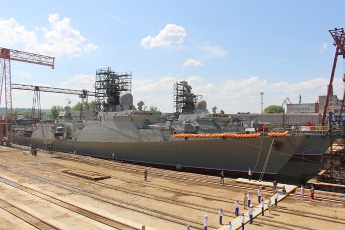 Những điều chưa biết về cặp tàu chiến Gepard của Việt Nam vừa hạ thuỷ - ảnh 6