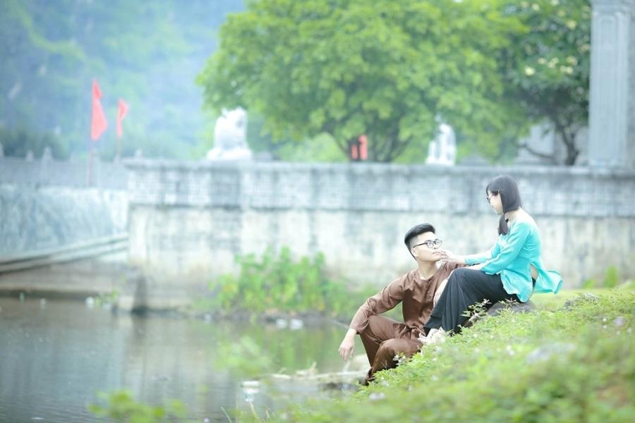 Teen Ninh Binh tai hien vua Dinh Bo Linh trong anh ky yeu hinh anh 4