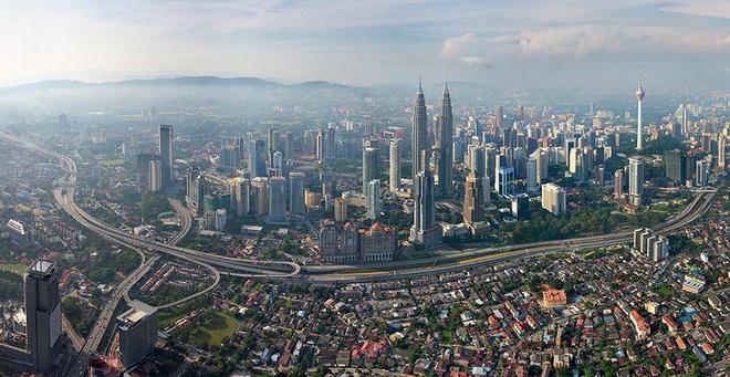 Các thành phố nổi tiếng trông như thế nào khi nhìn từ trên cao? - Ảnh 7.