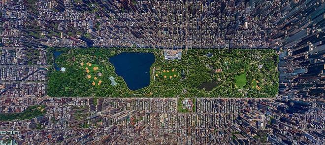 Các thành phố nổi tiếng trông như thế nào khi nhìn từ trên cao? - Ảnh 10.