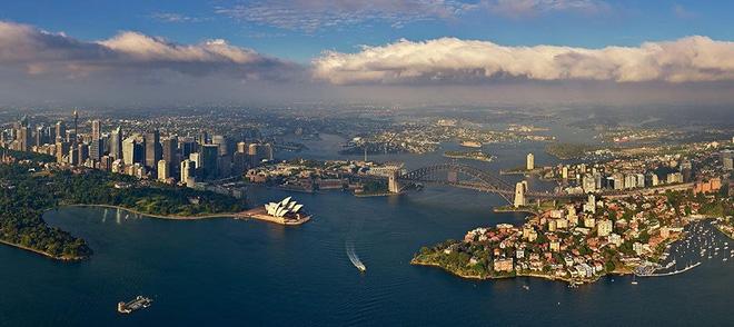 Các thành phố nổi tiếng trông như thế nào khi nhìn từ trên cao? - Ảnh 13.