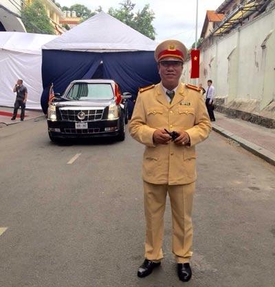 Trung tá Nguyễn Văn Hải Ảnh: THÀNH ĐỒNG