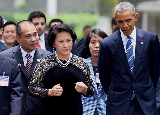 Phien dich Obama thua nhan goi y cau Kieu cho tong thong My hinh anh 1