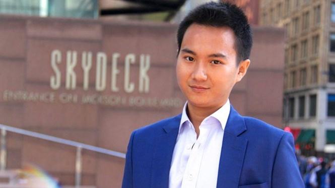 Phạm Hoàng Mẫn, chàng trai Bến Tre 2 lần được gặp Tổng thống Mỹ /// Ảnh: NVCC