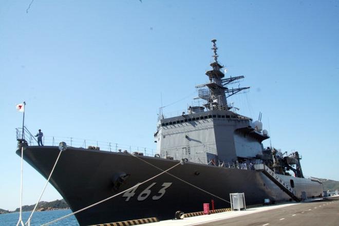 Hai tàu chiến Ấn Độ đầu tiên vào vịnh Cam Ranh  - Ảnh 5.