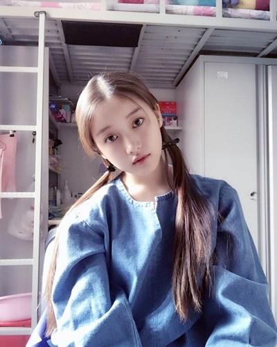 Hot girl 18 tuổi Trung Quốc khiến dân tình mê mệt vì xinh như nữ thần - Ảnh 5.