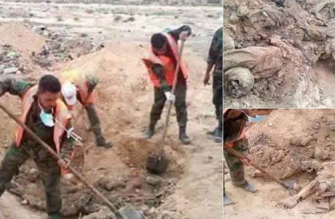 Phát hiện hố chôn 150 người bị tra tấn ở thành cổPalmyra