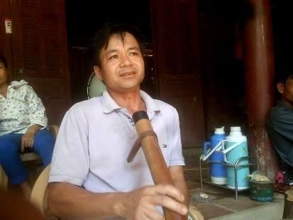 Anh Lương Văn Tuấn, nhân chứng kể lại vụ việc với PV.