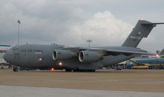 Đây là chuyến bay cuối cùng phục vụ chuyến thăm chính thức Việt Nam của Tổng thống Obama