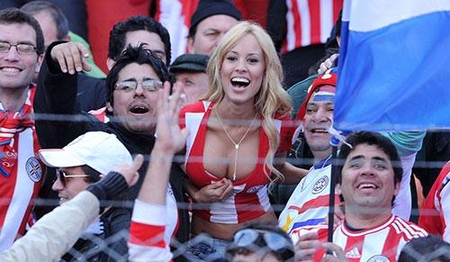Copa America 2016, Mỹ, sexy, Nissu Cauti, Maite Flores