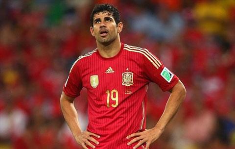 Costa đã bị HLV Del Bosque gạch tên khỏi danh sách ĐT Tây Ban Nha dự EURO 2016