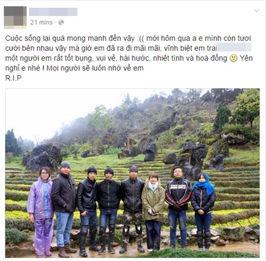 Hà Nội: Bạn bè tiếc thương nam phượt thủ 25 tuổi ra đi vì tai nạn giao thông - Ảnh 3.