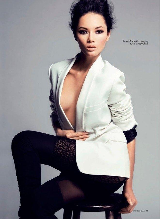 Hành trình chạm Hollywood của siêu mẫu Việt từng lộ ảnh nude - Ảnh 3.