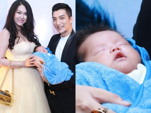 Phi Thanh Vân giờ hạnh phúc bên chồng và cậu con trai xinh xắn