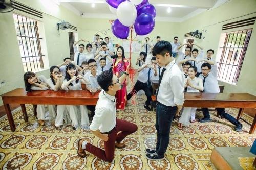 Phát sốt ảnh kỷ yếu 'giải cứu mỹ nhân' của học sinh Ninh Bình - Ảnh 12