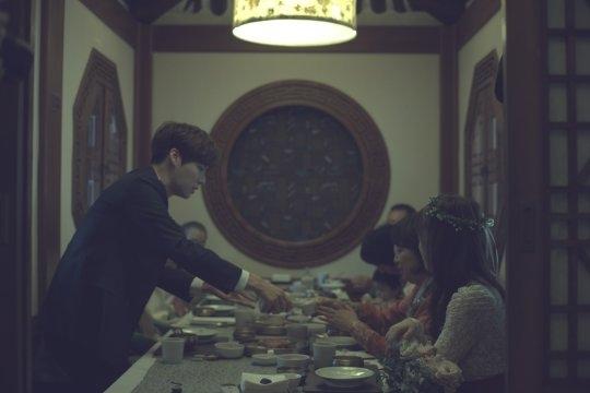 Rò rỉ hình ảnh hiếm hoi bên trong đám cưới của Goo Hye Sun - Ahn Jae Hyun - Ảnh 4.