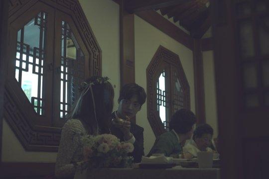 Rò rỉ hình ảnh hiếm hoi bên trong đám cưới của Goo Hye Sun - Ahn Jae Hyun - Ảnh 5.