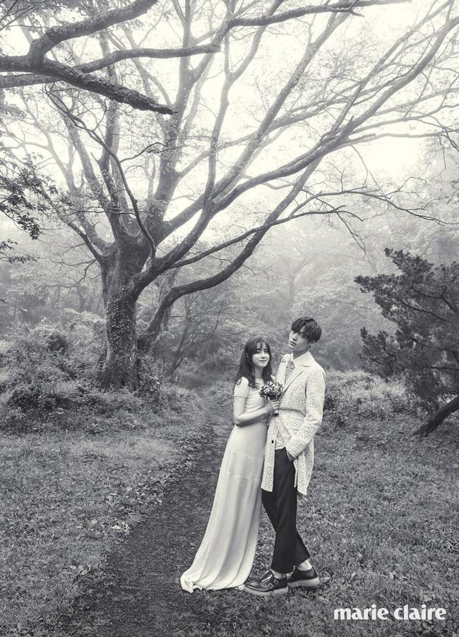 Rò rỉ hình ảnh hiếm hoi bên trong đám cưới của Goo Hye Sun - Ahn Jae Hyun - Ảnh 7.