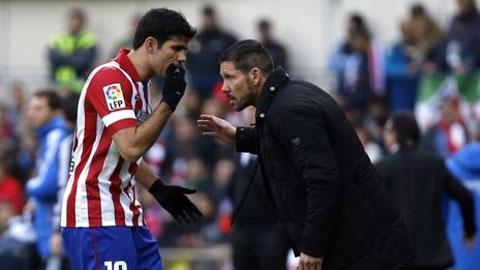 Simeone ra điều kiện để ở lại Atletico