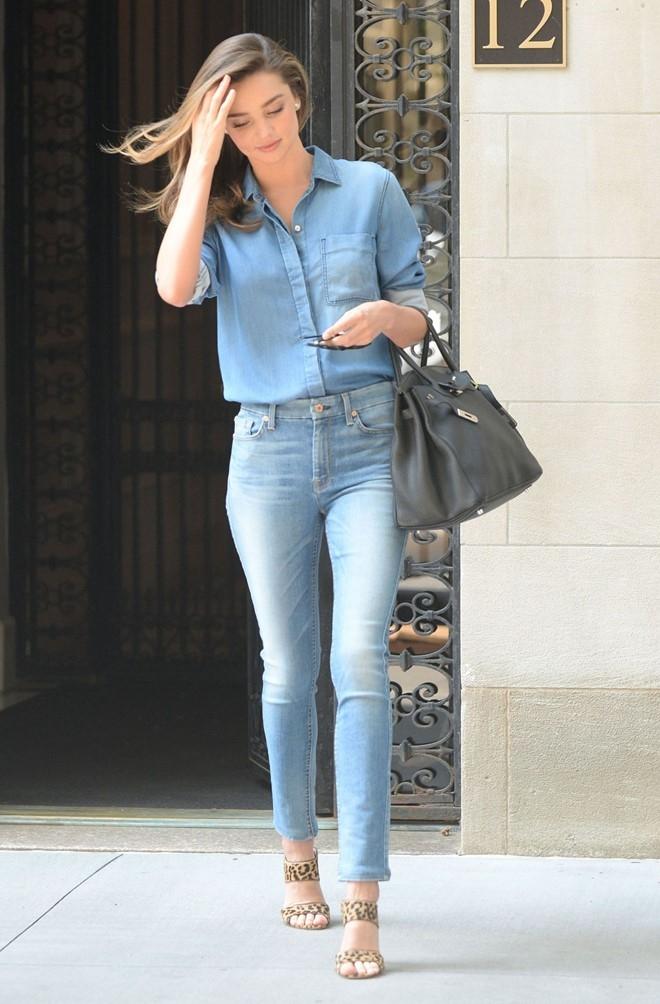 Street style yeu thich cua Miranda Kerr hinh anh 3