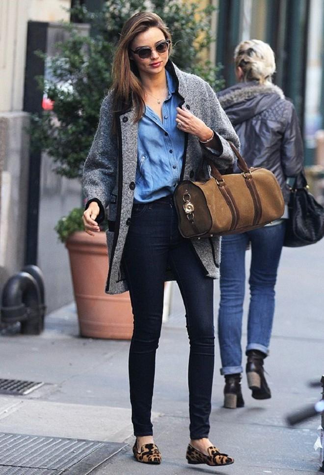 Street style yeu thich cua Miranda Kerr hinh anh 12