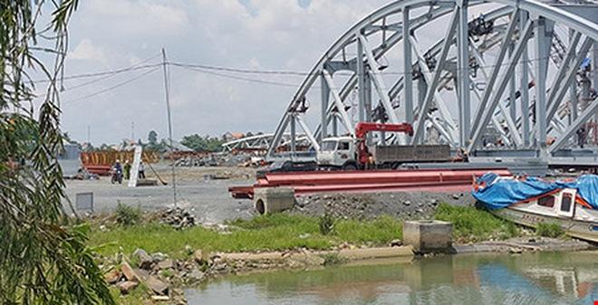 Tai nạn chết người tại công trường cầu Ghềnh