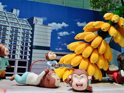 Khu vui chơi Hollywood phiên bản khỉ tại Sài Gòn