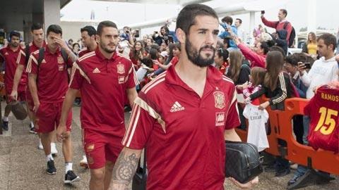 ĐT Tây Ban Nha công bố danh sách dự EURO: Isco & Saul bị loại