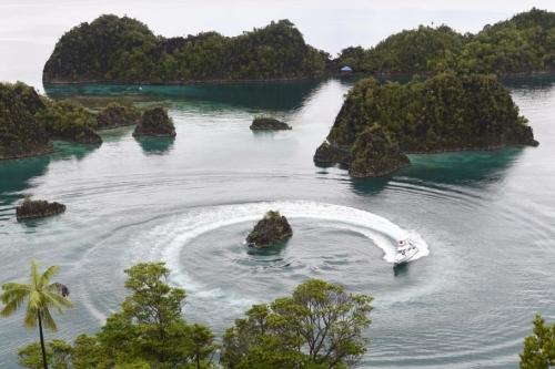 Indonesia đang đẩy mạnh tuần tra chống đánh bắt hải sản trái phép. Ảnh: