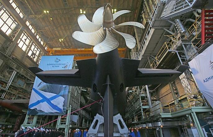 Nga hạ thuỷ tàu ngầm Kilo thứ 6 cho Hạm đội Biển Đen - ảnh 2