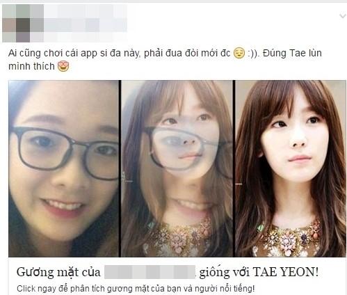 Trao luu 'Ban giong ngoi sao nao?' tren Facebook hinh anh 1