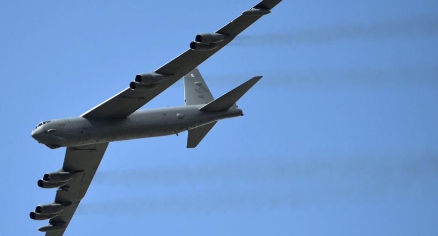 Pháo đài bay B-52 của Mỹ (Ảnh: AFP)