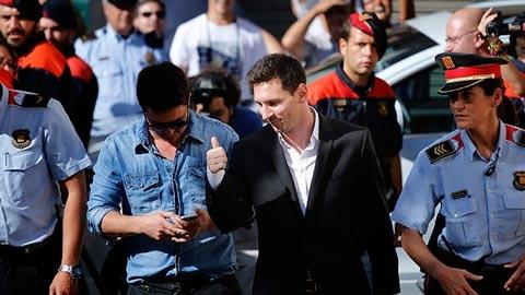 Phiên tòa xử Messi trốn thuế bắt đầu ở Barcelona