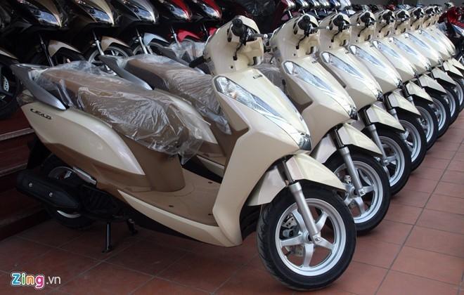 6 xe tay ga ban chay nhat Viet Nam nam 2015 hinh anh 3
