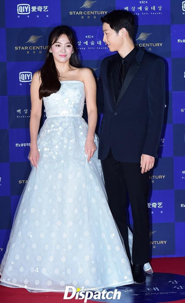 Cặp đôi Song - Song nắm tay tình tứ, Suzy khoe vòng 1 đẫy đà trên thảm đỏ Baeksang 2016 - Ảnh 8.