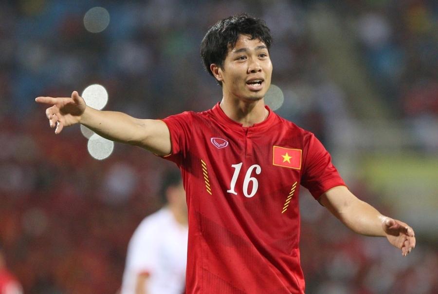 Tiền đạo xứ Nghệ được vào sân từ phút 57 trận tuyển Việt Nam vs Syria tối 31/5.