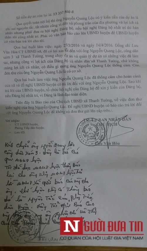 Hé lộ nội dung tố cáo của cụ ông 70 tuổi trước khi bị chặt cụt tay - Ảnh 2