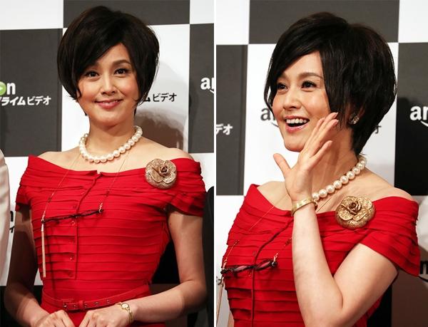 Norikia Fujiwara vẫn rất đẹp ở tuổi 44, cô tiết lộ đã kết hôn với tài tử .