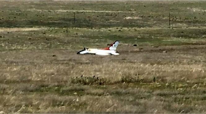 Máy bay biểu diễn Mỹ rớt trước mặt ông Obama