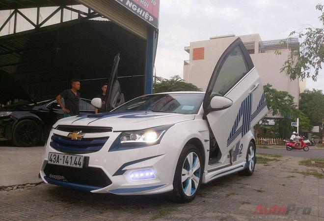 Các dòng sedan như Chevrolet Cruze...