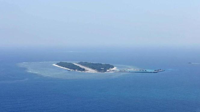 Đảo Ba Bình thuộc quần đảo Trường Sa của Việt Nam. Ảnh chụp ngày 23.3.2016 /// Reuters