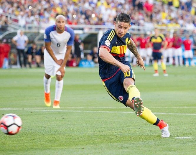 Colombia đánh bại Mỹ trong ngày khai mạc Copa America 2016